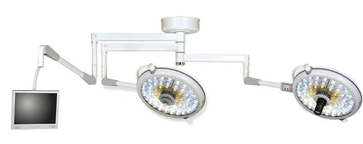Đèn mổ LED 2 nhánh kèm camera và monitor