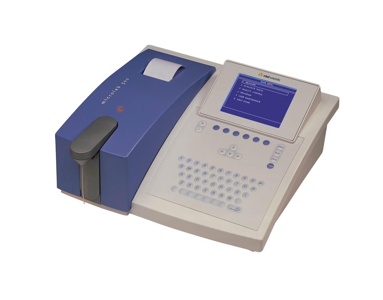 Máy xét nghiệm sinh hóa bán tự động Elitech Microlab 300