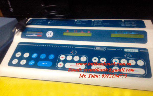 Máy đo thính lực 2 kênh AC50
