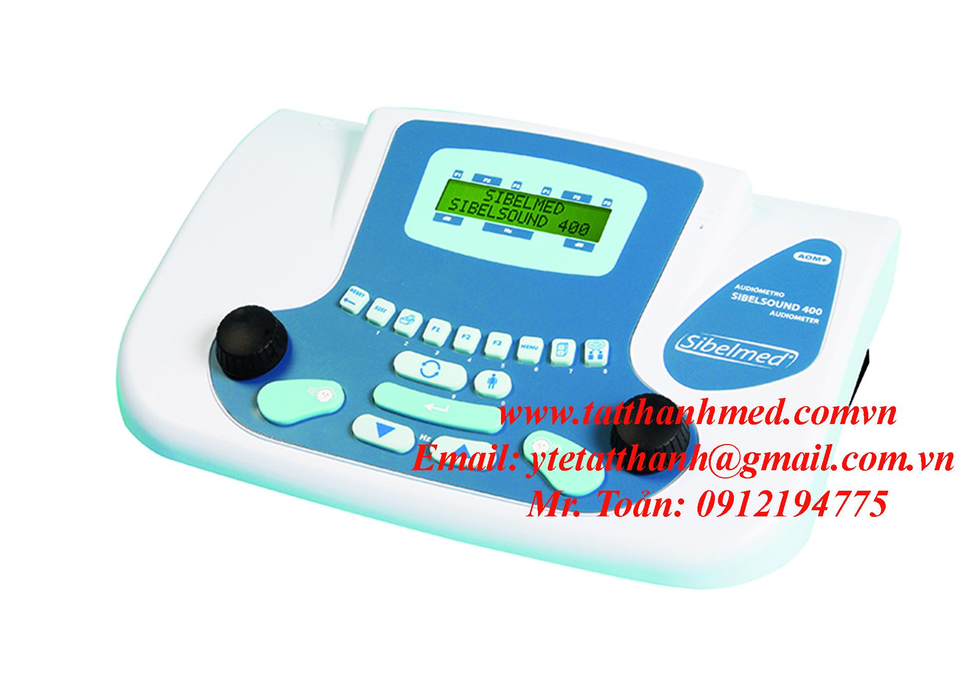 Máy đo thính lực dòng series Sibelsound 400 chuẩn đoán, tự dộng- hai kênh