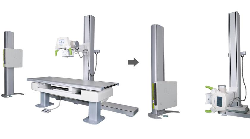 Máy chụp X quang cao tần HF525 - Hàn Quốc